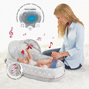 Travel Baby Bed - Bassinet With Lights, Music, And Vibration Features