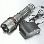 Complaisance LED Light 2000 Lumen Adjustable Focus Torch Flashlight Colour Grey