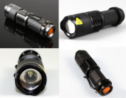 Excellently Torch Lamp 2000 MAX Lumens with Charger Flashlight for Cycling