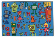 Carpets for Kids 48.79 Reading Robots 1.2m x 1.8m