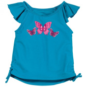 Sun Smarties UPF 50+ Butterfly Tankini Swim Top Baby, Toddler, Girls, Blue