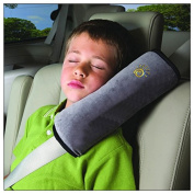 Domire Safety Child car seat belt Strap Soft Shoulder Pad Cover Cushion Grey