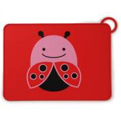 Skip Hop Zoo Fold & Go Silicone Placemat - Ladybug