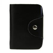 Starsource 26 Cards Leather ID Credit Card Holder Short Wallet Bag Purse