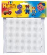 Hama Beads - Square & Round Pegboard Large (Midi Beads) by ToyLand
