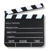 S / O Clapperboard 18 x 20 CM Clapper Board Hollywood director Flap Szenenklappe Clapbaord 0070