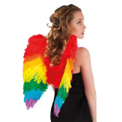 Feather 50cm x 50cm Angel Fairy Wings Fancy Dress Costume - Choice of Colours