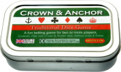 Pocket / Travel Crown & Anchor dice game