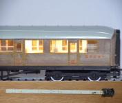 Train Tech CL2 Standard Coach Lighting Strips - Warm White