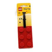 Lego Stationery Lego Brick Luggage Tag Red