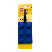 Lego Stationery Lego Brick Luggage Tag Blue