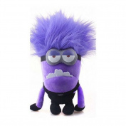 30cm Plush Toy Despicable Me 2 Evil Minion Bad Minion Purple 2 Eyes Birthday GIFT