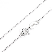 """Sterling Silver 1mm Bead Chain 16"""" 18"""" 20"""" 22"""""""