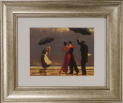 The Singing Butler by Jack Vettriano Framed Art Print Picture (33cm x 28cm) Silver Frame