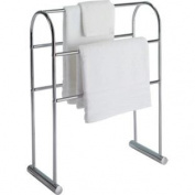 High Quality Traditional Curved Towel Rail - Chrome