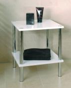 HAKU Furniture 90338 End Table, 47 x 39 x 39 cm