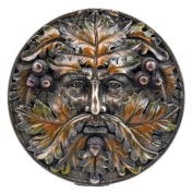 Green Man Autumn Equinox Wall Plaque By Nemesis Now