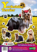 Dogs Self Adhesive Sticker Kit - Yorkshire Terrier