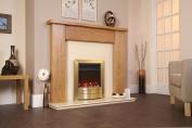 Designer Celsi Fire - Essence XD Satin Brass 41cm