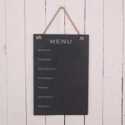 Slate Hanging Notice Board 'Menu'