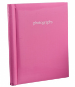 Arpan Hot Pink Large Self Adhesive Photo Albums 20 Sheets 40 Sides