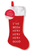 Christmas Stocking - Ive Been Very Very Very Good Design - 7.9m Approx