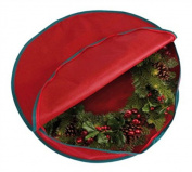 Christmas Wreath Fabric Storage Bag