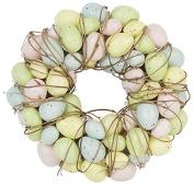 Easter Decoration - Pastel Egg Easter Wreath