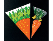 12 Carrot Easter Treat, Sweet or Party Bags