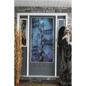 Halloween Zombie Horror Scary Door Cover Fancy Dress Party Poster Decoration New