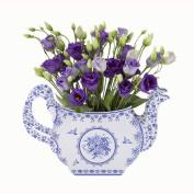 Talking Tables Party Porcelain Blue Teapot