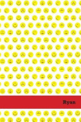 Etchbooks Ryan, Emoji, College Rule, 6 X 9', 100 Pages