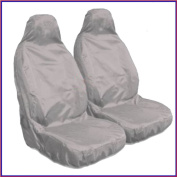 CHRYSLER JEEP CHEROKEE (2008 on)Pair Of Waterproof Seat Covers Grey