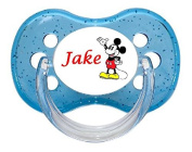 PERSONALISED UNIQUE DESIGNER DUMMY SOOTHER PACIFIER - MOUSE