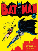 Dc Comics 60 x 80 cm Batman No.1 Canvas