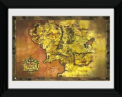 GB eye 41cm x 30cm Lord Of The Rings Middle Earth Framed Photograph, Assorted