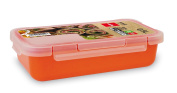 Gilberrts Valira Airtight Sealed Plastic Containers in Orange