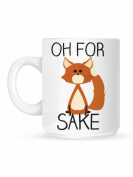 Oh For Fox Sake Mug White