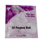 Youngs All Purpose Red Wine Yeast Sachet 5g