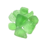 CYS Vase Filler Sea Glass Table Scatters, Frosted Green, Pack of 4 bags