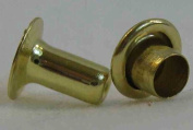 Tandy Leathercraft X-Small Brass Plated Rapid Rivets 1278-11
