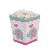 Pink Elephant Popcorn Boxes