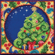 Mill Hill Jim Shore Tree Counted Cross Stitch Kit, 13cm by 13cm