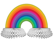 Creative Converting Paper Centrepiece Decoration, Rainbow