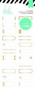 Heidi Swapp Hello Beautiful Gold Foil Labels