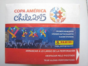 CHILE 2015 Copa America Panini complete 50 packs box , Total of 250 stickers