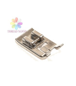ThreadNanny Piping Sewing Machine Presser Foot - Fits All Low Shank Snap-On Singer*, Brother, Babylock, Euro-Pro, Janome, Kenmore, White, Juki, New Home, Simplicity, Elna and More!