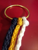 Cord of Three Strands ~ the Divinity Braid ~ True Navy Theme
