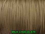 10 Yards : 1.8 MM Milk Chocolate Professional Grade Nylon Braided Lift Cord for Blinds and Shades