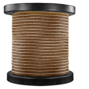 46m Spool - Rayon Antique Wire - Brown - 18/2 SPT-1 - Parallel Cord